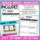 Reading Wonders 3rd Gr Constructed Response Worksheets Bundle Unit 4-6