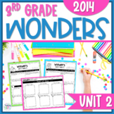 Reading Wonders Unit 2 Constructed Response Worksheets - Grade 3