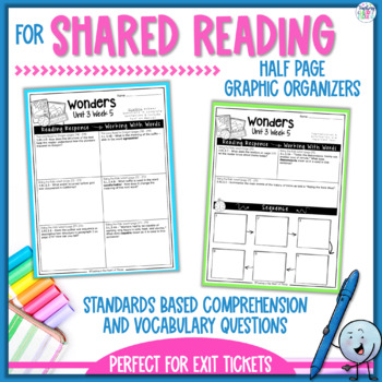 Reading Wonders 3rd Grade Constructed Response Worksheets Unit 3
