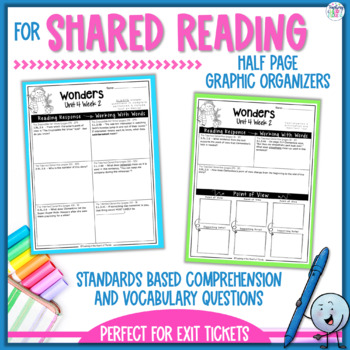 Reading Wonders 3rd Grade Constructed Response Unit 4 - Common Core