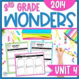Reading Wonders Unit 4 Constructed Response Worksheets - Grade 3