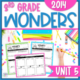 Reading Wonders Unit 5 Constructed Response Worksheets - Grade 3