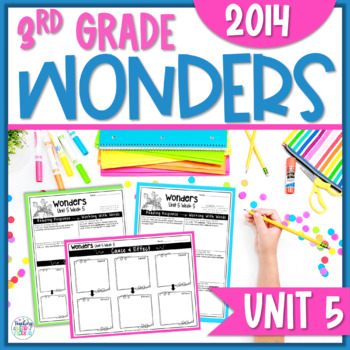 Reading Wonders 3rd Grade Constructed Response Unit 5 - Co