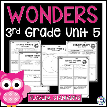 Reading Wonders 3rd Grade Constructed Response Unit 5 - LAFS