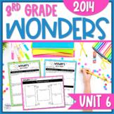 Reading Wonders Unit 6 Constructed Response Worksheets - Grade 3