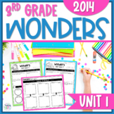 Reading Wonders 3rd Grade Constructed Response Unit 1 - Common Core