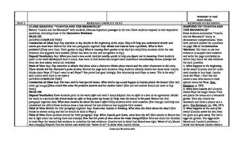 McGraw-Hill Reading Wonders 3rd Grade UNIT 5 Intervention Wonderworks Plans