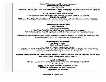 Reading Wonders 3rd Grade UNIT 5 WEEKS 1-6 Whole Group Plans **BUNDLE**