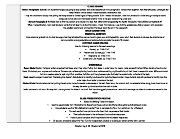 McGraw-Hill Reading Wonders 3rd Grade UNIT 6 WEEK 3 Whole Group Plans