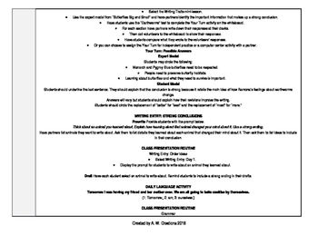 McGraw-Hill Reading Wonders 3rd Grade UNIT 6 WEEK 4 Whole Group Plans