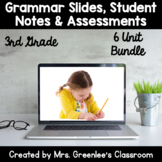 Reading Wonders 3rd Grade Units 1-6 Grammar Bundle