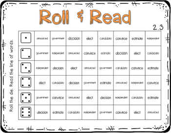 Reading Wonders 3rd Grade VOTE ! 2.3 {10 Literacy Activities}