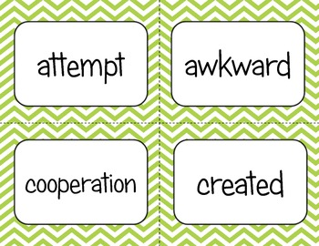 Reading Wonders 3rd Grade Vocabulary Cards ALL 6 Units
