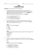 Reading Wonders 3rd Grade Vocabulary in Context Unit 3 Bun