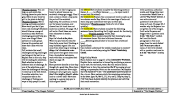 McGraw-Hill Reading Wonders 4th Gr UNITS 1-6 Wonderworks Sm Grp Plans BUNDLE