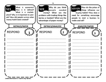 Reading Wonders 4th Grade Trifolds Only ( Mega Bundle Units 1-6)