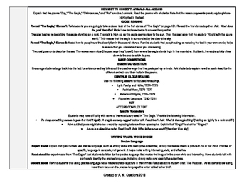 McGraw-Hill Reading Wonders 4th Grade UNIT 2 WEEK 5 Whole Group Plans