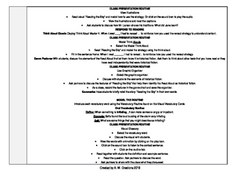 McGraw-Hill Reading Wonders 4th Grade UNIT 6 WEEK 1 Whole Group Plans