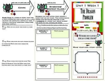 Reading Wonders 4th Grade Unit 1 Short Story Comprehension