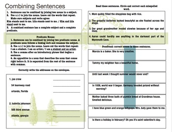 Reading Wonders 4th Grade Unit 2 Grammar/LA Interactive Notebook Journal Pages