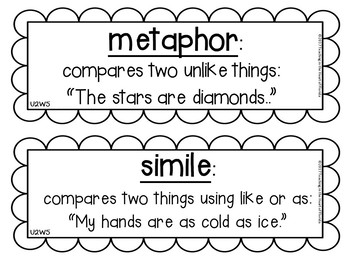 Reading Wonders 4th Grade Vocabulary Cards {Printer Friendly Black and White}
