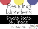 Reading Wonders (McGraw Hill) Smart Start 5th Grade