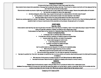 McGraw-Hill Reading Wonders 5th Grade UNIT 2 WEEK 6 Whole Group Plans