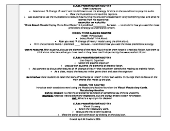 McGraw-Hill Reading Wonders 5th Grade UNIT 5 WEEK 1 Whole Group Plans