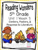 5th Grade Reading Wonders- Unit 1 Week 3