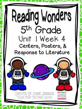 5th Grade Reading Wonders-  Unit 1 Week 4