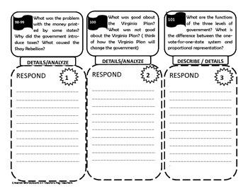 Reading Wonders 5th Grade Unit 2 - Tri-folds Only Bundle