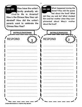 Reading Wonders 5th Grade Unit 3 - Tri-folds Only Bundle