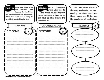 Reading Wonders 5th Grade Unit 4 - Tri-folds Only Bundle