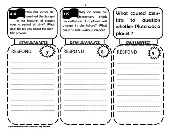 5th Grade Unit 5 Reading Wonders Activities + Trifolds Bundle