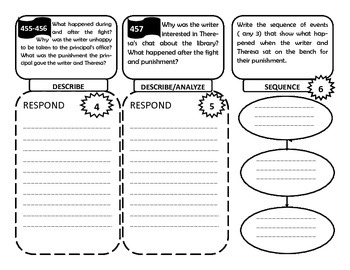 Reading Wonders 5th Grade Unit 6 ( Trifolds only bundle)