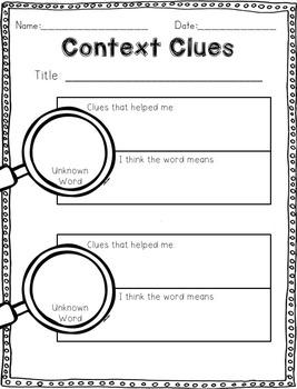 Reading Wonders Activities for Grade 2 Unit 1, Week 3