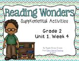 Reading Wonders Activities for Grade 2 Unit 1, Week 4