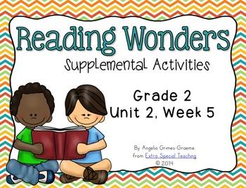 Reading Wonders Activities for Grade 2 Unit 2, Week 5