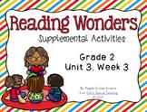 Reading Wonders Activities for Grade 2 Unit 3, Week 3