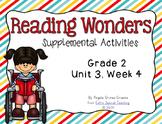 Reading Wonders Activities for Grade 2 Unit 3, Week 4