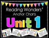 Reading Wonders Anchor Charts Unit 1, Grade 2