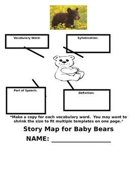 Reading Wonders Baby Bears Literature Packet