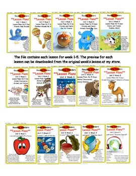 *Reading Wonders*  Bundled Lesson Plans FOR THE YEAR!!!!! 2nd GRADE
