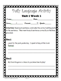 Reading Wonders- Daily Lang. Activity Unit 1 Gr.5 Bundle