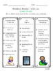 Reading Wonders Differentiated Centers Checklists - Grade 4 Unit 2