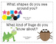 Reading Wonders Essential Question Cards