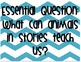 Reading Wonders Essential Question and Concept Unit 2