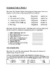Reading Wonders - FSA Aligned Reading and Grammar Assessment Unit 1, Week 1