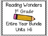Reading Wonders First Grade Entire Year Bundle