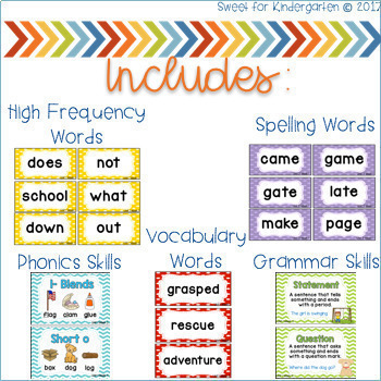 First Grade Focus Wall BUNDLE (aligned with Reading Wonders)